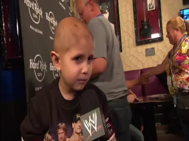 The Wonderful Side of Pro-Wrestling: Meet Connor The Crusher  (VIDEO)