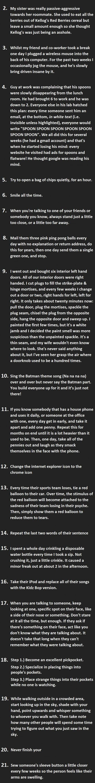 Subtle Amusing Ways to Annoy People