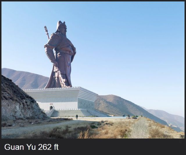 Giant Statues from around the World