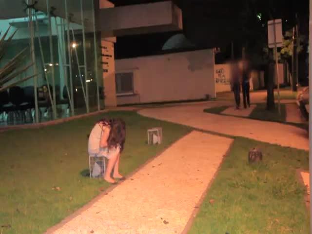 Abandoned Child Scare Prank  (VIDEO)