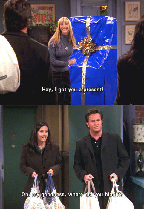 "Hilarious Chandler Bing One-Liners from ""Friends"""