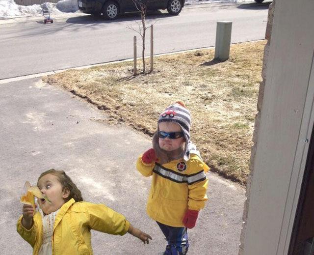 The Boy Eating a Banana Meme