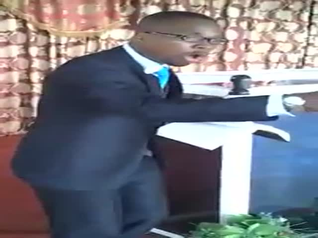 African Exorcism Goes Unexpectedly  (VIDEO)
