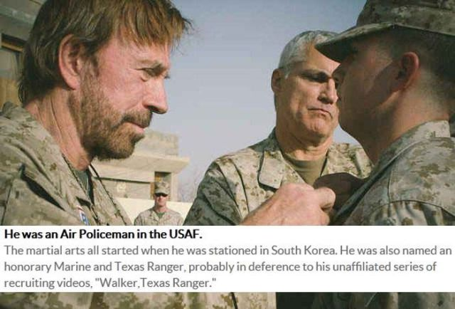 Great Chuck Norris Facts That Are 100 Percent True