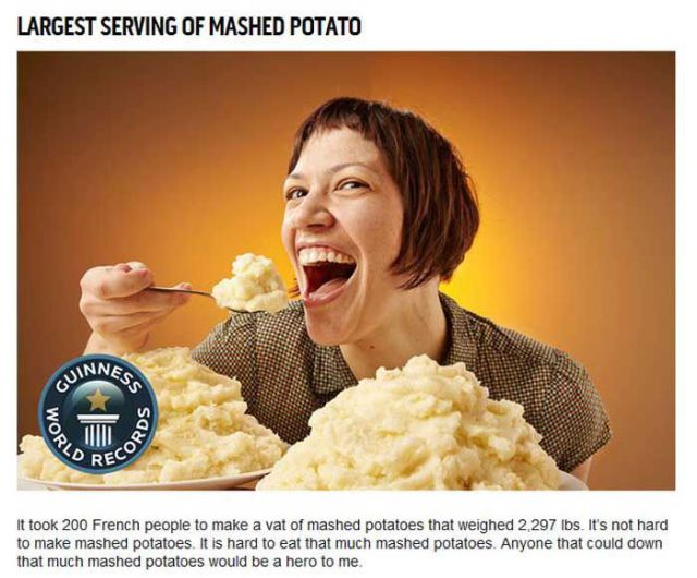 The Most Mundane Guinness World Records for Food