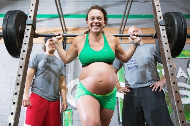 You Won't Believe What This Pregnant Mom Did Just Hours Before Giving Birth