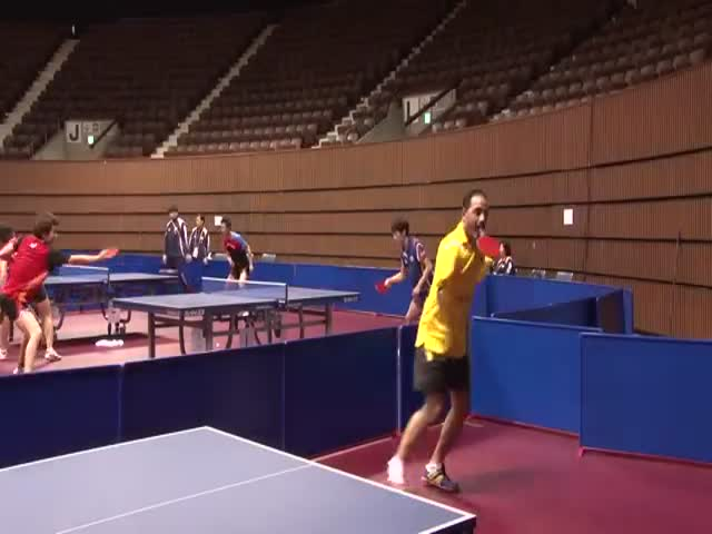 You Don't Stand a Chance against This Armless Ping Pong Player