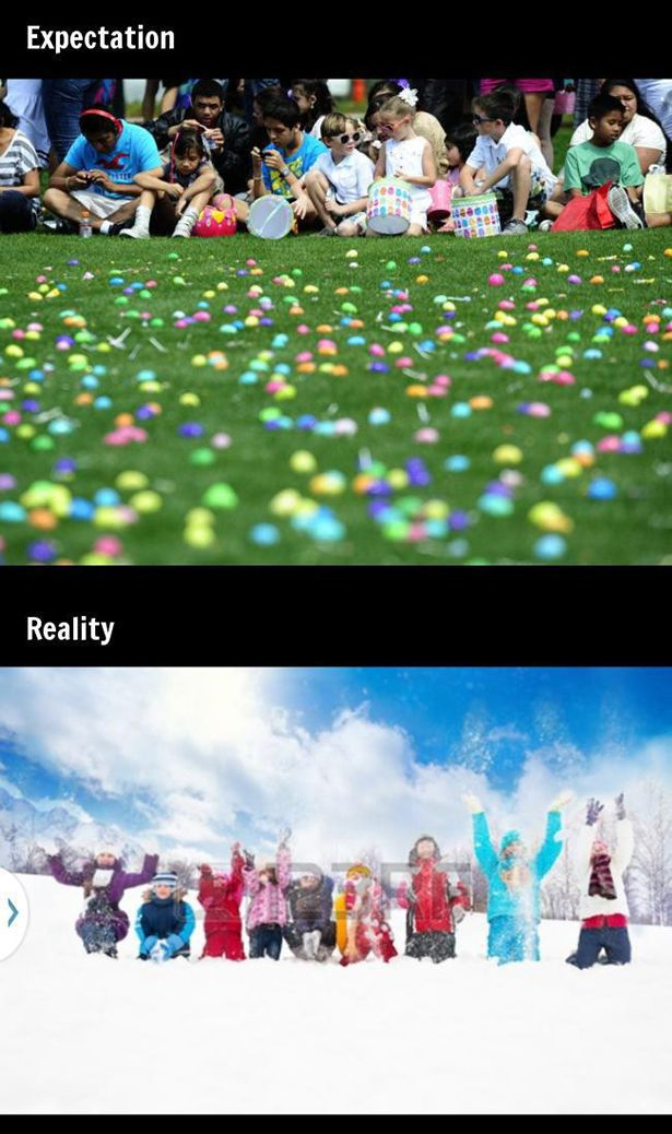 Things In Your Mind vs. Things in Reality