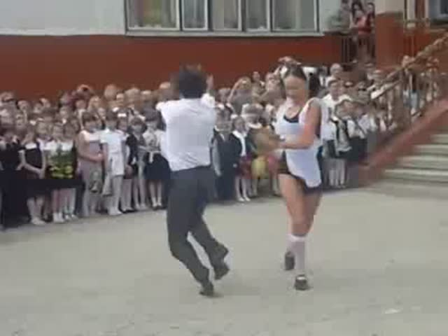 That's How Russians Celebrate the Last Day of School
