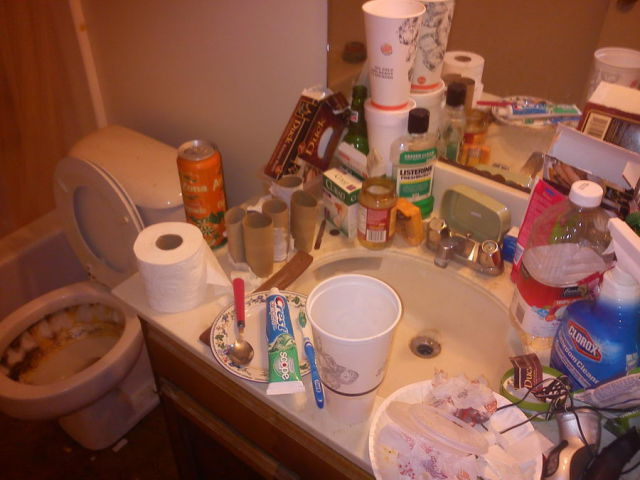 The Messiest Flatmate Ever