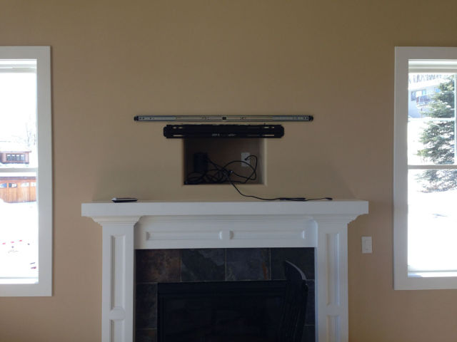 An Artistic Way to Disguise a TV