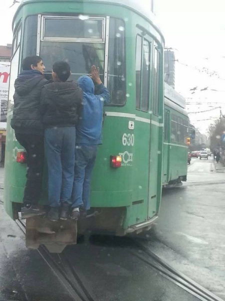 Commuting In Serbia Is a Real Experience