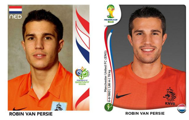 Famous Footballers World Cup Photos: Then and Now