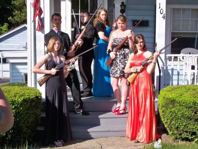 Prom Photos in True Redneck Style