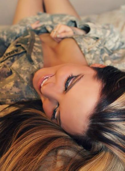 Hot Girls Make Military Uniforms Look Sexy