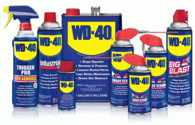 Random Things You Can Use WD-40 for