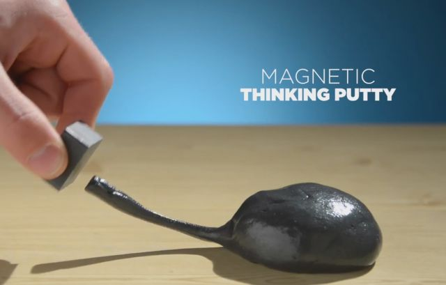 The Things You Can Do with 100 Lbs of Magnetic Thinking Putty