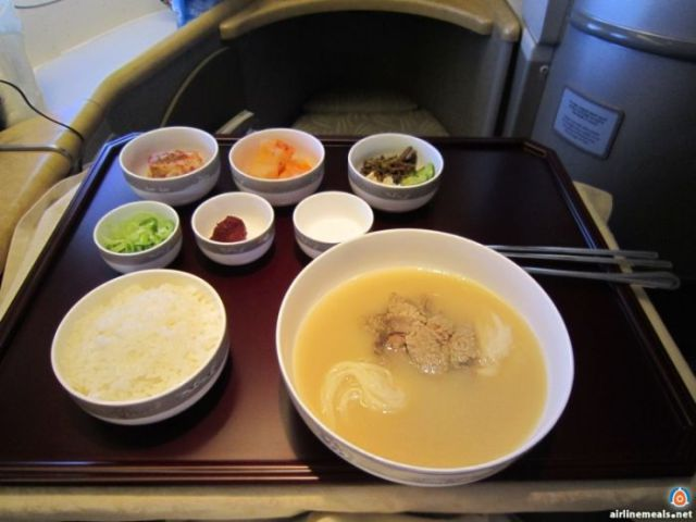 The Top Class Meals Available to First Class Travellers