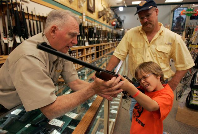 American Kids are Gun Proud from a Young Age