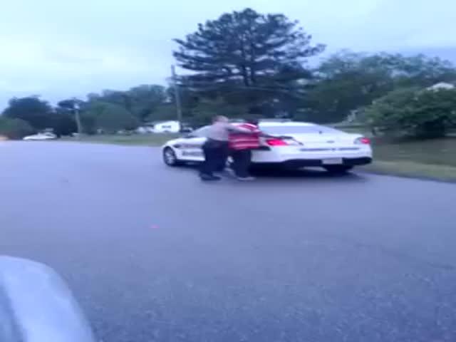 Guy Resisting Arrest: