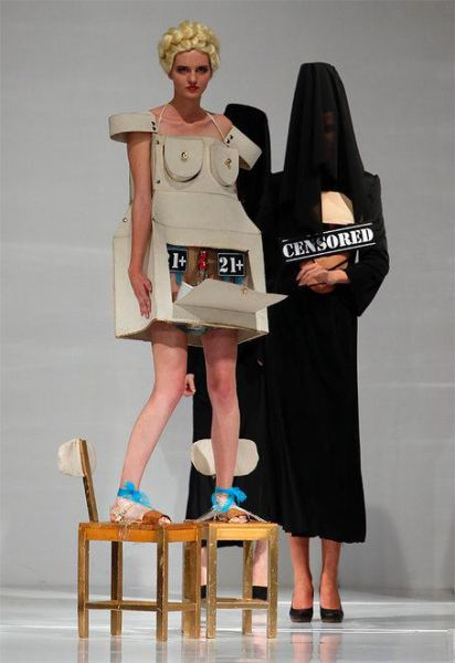 Fashion Runway Clothing That Is Weird and Wacky
