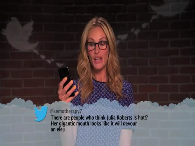 Celebrities Reading Mean Tweets about Themselves #7  (VIDEO)