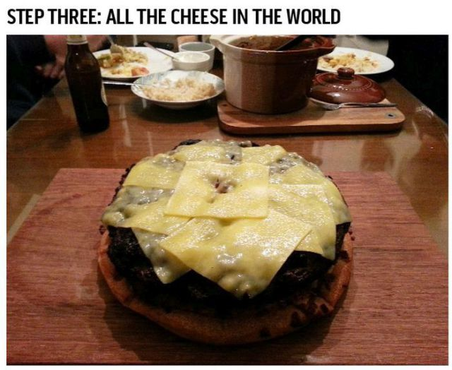 A Killer Gigantic Cheeseburger