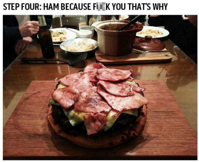 A Killer Gigantic Cheeseburger