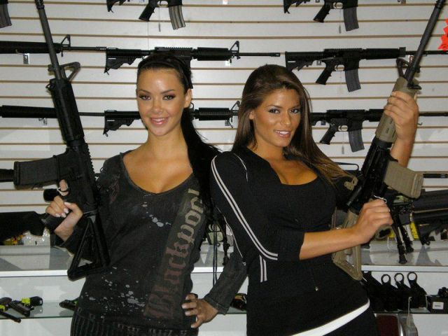 Girls Can Handle Guns Too
