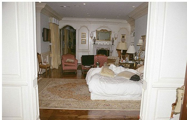 Michael Jackson's Bedroom on the Day of His Death
