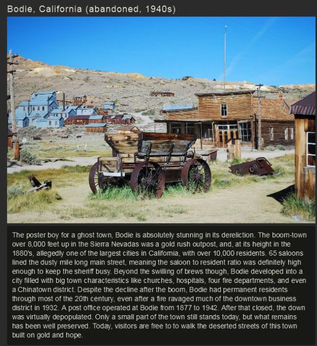 Ghost Towns from around the World