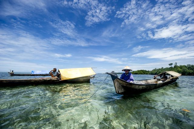 Nomadic People Who Are At Home in the Sea
