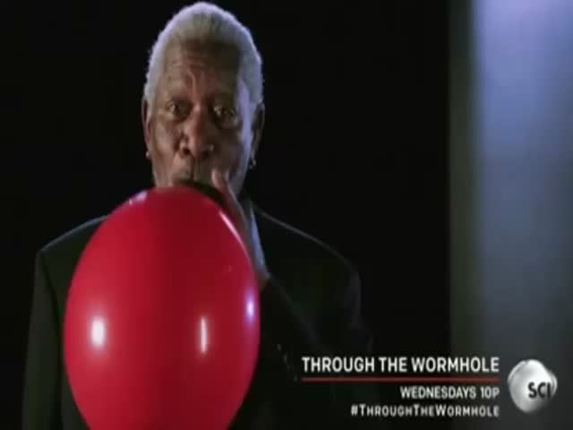 Morgan Freeman on Helium  (VIDEO)