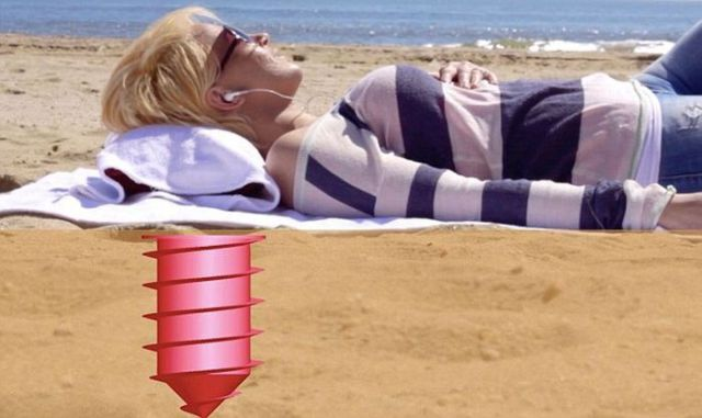 A Beach Locker That Is Pure Genius