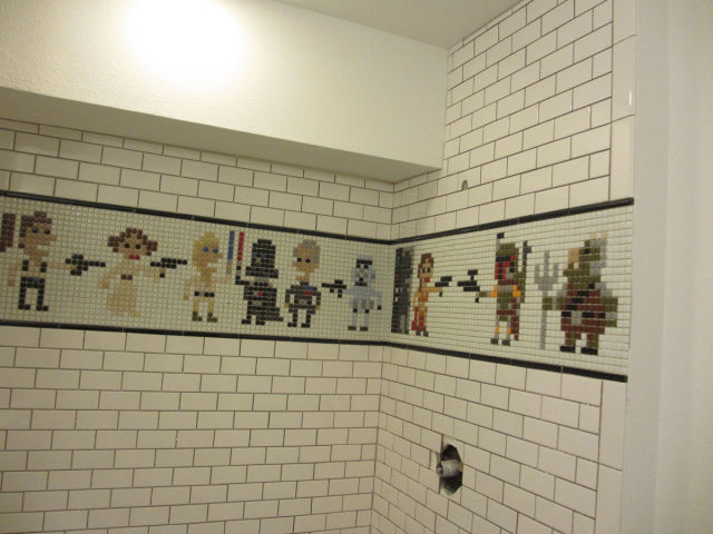 An Epic Star Wars Themed Shower
