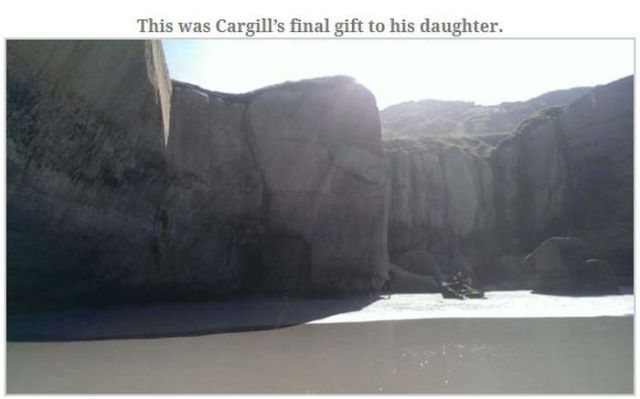 A Dad's Touching Natural Memorial for His Daughter