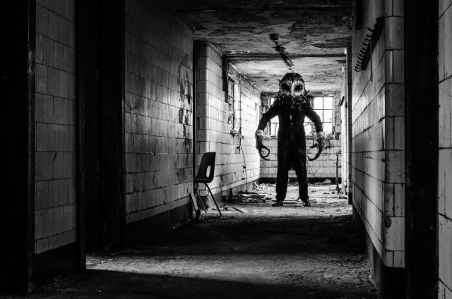 Owlman Scares The Sh*t Out of Visitors at an Abandoned Hospital