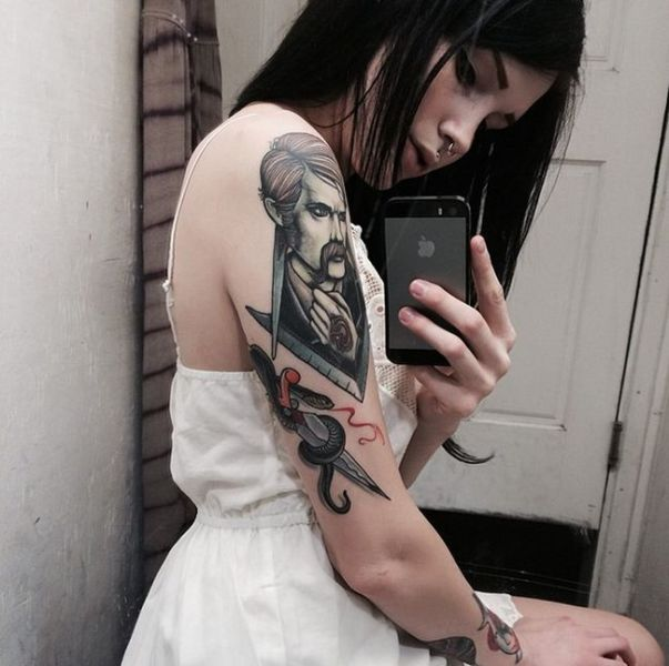 This Sultry Suicide Girl Will Awaken Your Senses