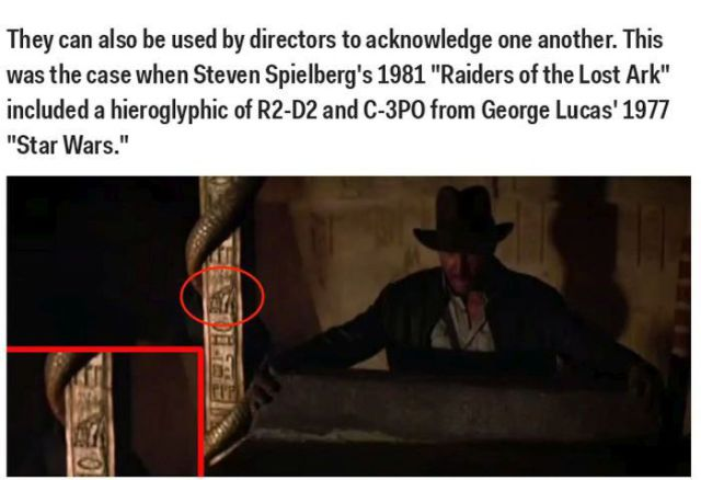 Hidden Easter Eggs You've Probably Not Noticed in Top Films