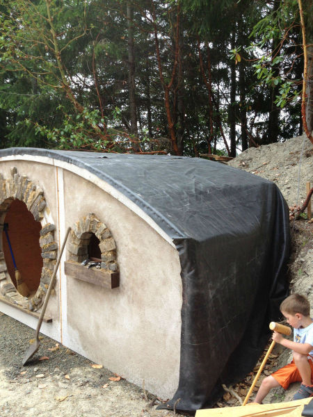 One Man's Brilliant Self-made Hobbit House