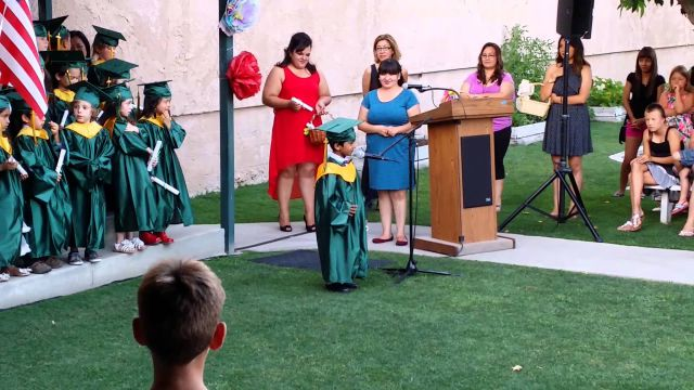 Epic Inspiring Preschool Graduation Speech