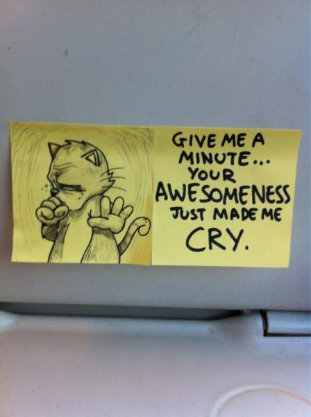 Sweet Motivational Post It Notes To Inspire Train
