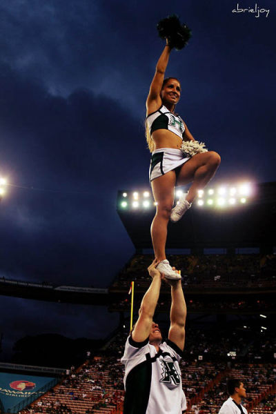 Male Cheerleaders Have the Best Job in the World