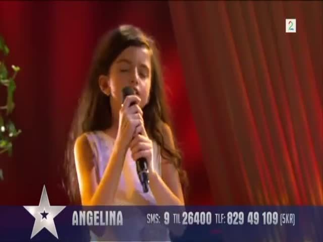 8-Year-Old Girl Wins Norway's Got Talent Contest  (VIDEO)