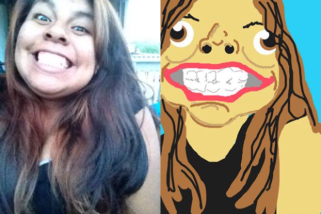 Comic Illustrations That Make a Mockery of Bad Selfies
