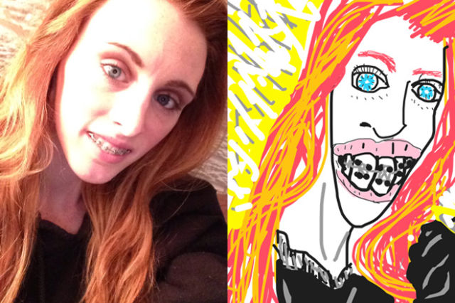 Comic Illustrations That Make a Mockery of Bad Selfies
