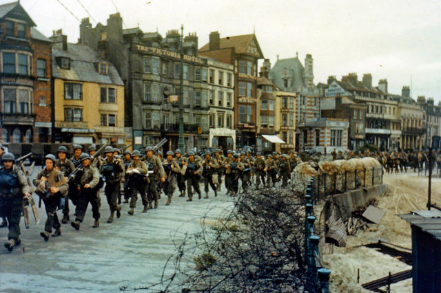 Past vs. Present Pics of Normandy D-Day Landing Sites
