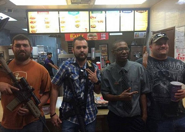 "The ""Open Carry"" Movement Is a Bit Over the Top"