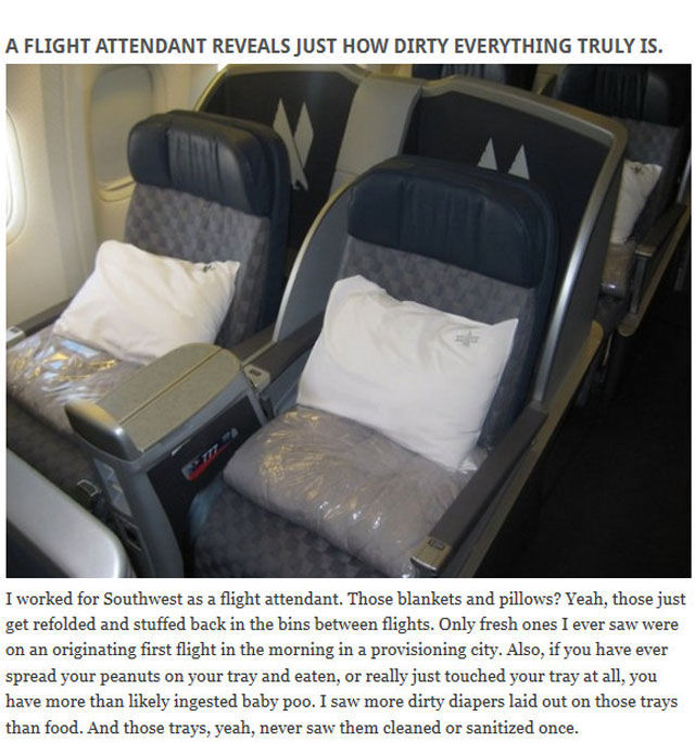 Things Pilots and Flight Attendants Don't Tell You