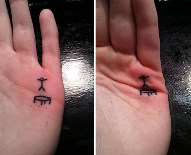 These Folks Got Tattoos Just to Have Fun with It After